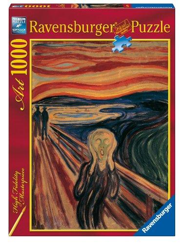 Price comparison product image Ravensburger Puzzle 1000 pieces - The Scream,  Munch (code 15758)