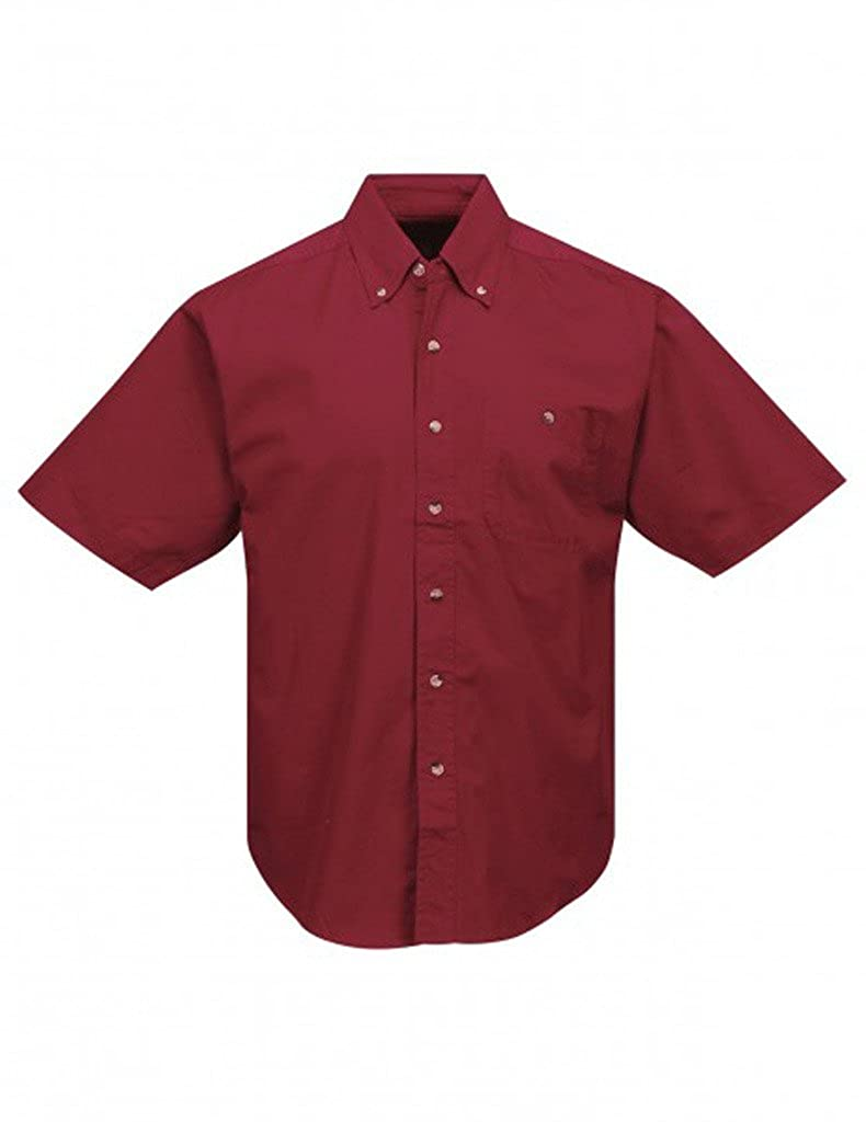 A/&E Designs Premium Quality Director Short Sleeve Button Down Shirt