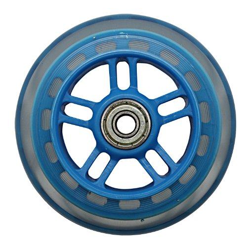 JD RAZOR 4インチ ホイール リム色付 ホイール(ベアリング付) BLUE