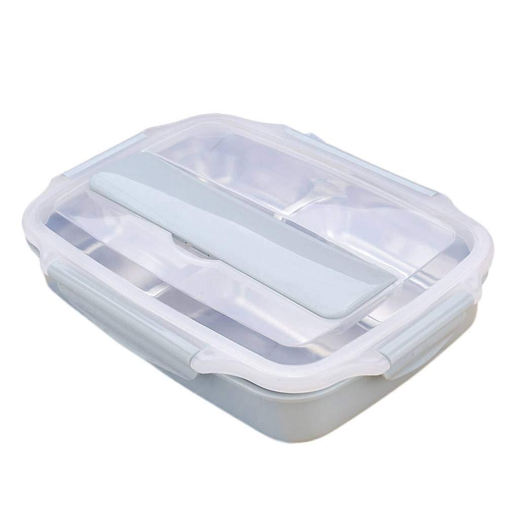 Providethebest Acciaio Inossidabile Sicuro PP plastica Isolamento Termico Lunch Box Alimentari Contenitore sigillato Pranzo Caso