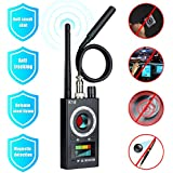 OTTOLIVES Anti Spy Detector Hidden Camera Detector RF Signal Detector Camera Finder Bug Detector for Wireless Audio GSM Tracking Device GPS Radar Radio Frequency Detector