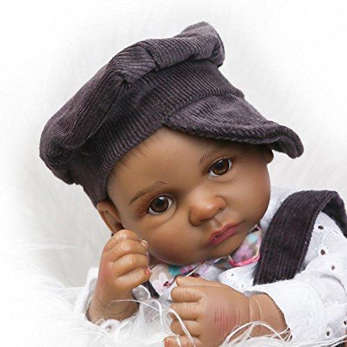 Open Eyes African American Boy Mini 11 Quot Black Baby Boy