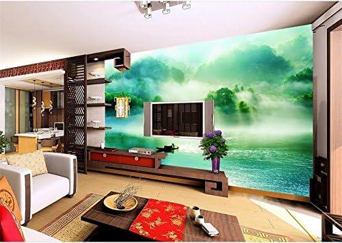 chlwx 3d fondo foto mural de la Camera verde bosque paisaje pintado HD fotos Sofá de Camera TV fondo mural: Amazon.es: Bricolaje y herramientas