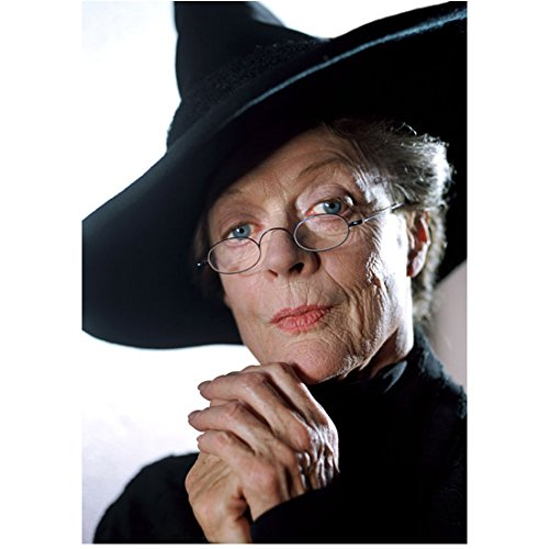 Harry Potter Maggie Smith as Professor McGonagall hands at chin 8 x 10 Inch Photo
