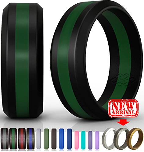 Knot Theory 8mm Dark Green Line Size - Dark Line