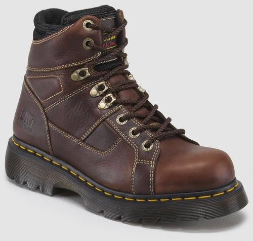 [Dr. Martens Men's Ironbridge Ns Work Boot,Teak,9 UK/10 M US] (Dr Martens Work Shoes)