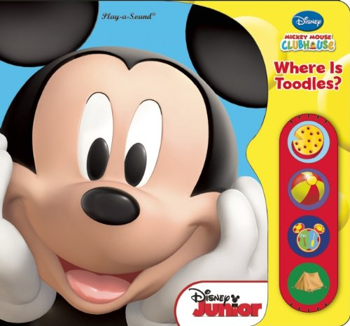 Disney, Mickey Mouse Clubhouse: Where Is (Mickey Mouse Toodles)