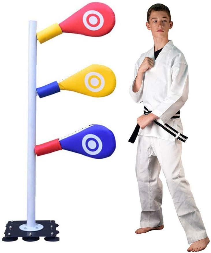 rot Furnoor Target Pad Boxen Taekwondo Karate Kick Stanzen Trainingsziel Weiche PU Schwamm Pad Erwachsene Kinder