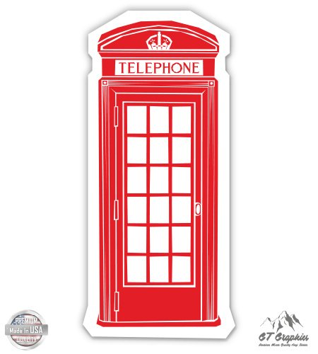 - London Red Telephone Booth Cute - 5