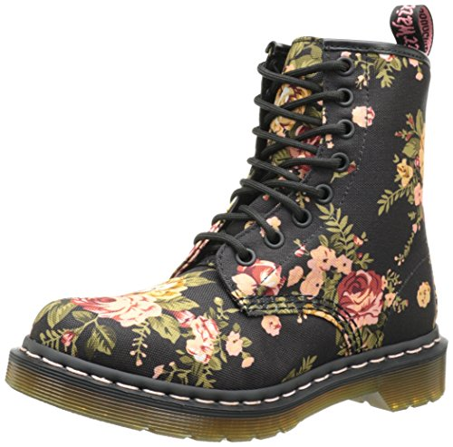 Dr. Martens Women's 1460 Re-Invented Victorian Print Lace Up Boot - stylishcombatboots.com
