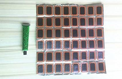 Lot de 144 rustines en caoutchouc pour pneus de v/élo(3 bo/îtes)