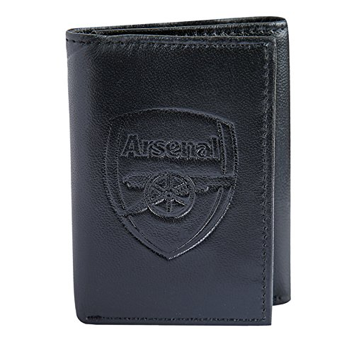 fanoriginals Arsenal FC Official Soccer Gift Embossed Crest Leather Money Wallet