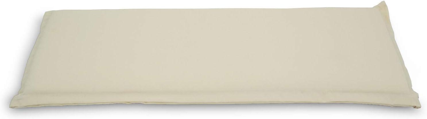 Tama/ño 40x40x15 cm Edenjardi Coj/ín Decorativo para Exterior Color Naranja Repelente al Agua Desenfundable