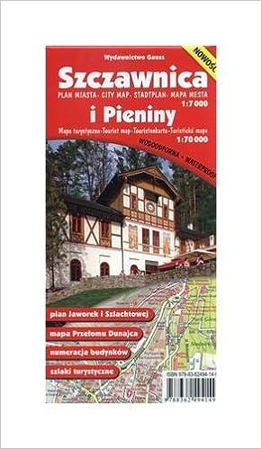 Szczawnica Plan Miasta 1 7000 I Pieniny Mapa Turystyczna 1 70 000