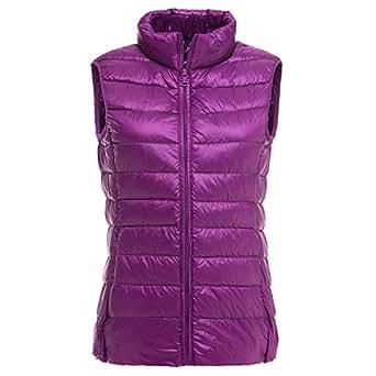Amazon.com: Micca Bacain Women Sleeveless Coat Winter