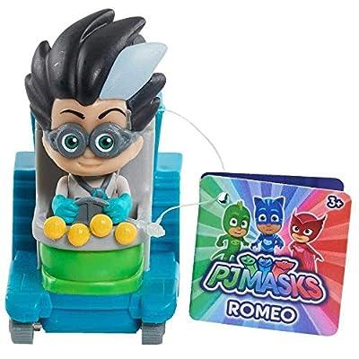 PJ Masks Mini Vehicle – Romeo: Toys & Games