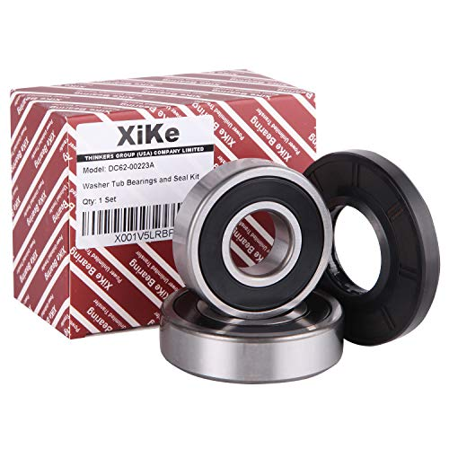 (XiKe DC62-00223A Washer Tub Bearing & Seal Kit Rotate Quiet and Durable, Replacement for Samsung and Kenmore AP4211943, PS4208713, DC97-328L, DC97-15931A, DC97-15328A, DC97-15328F, DC97-328G. )
