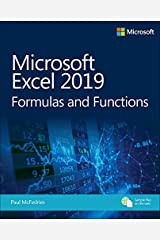 Microsoft Excel 2019 Formulas and Functions (Business Skills) Kindle Edition