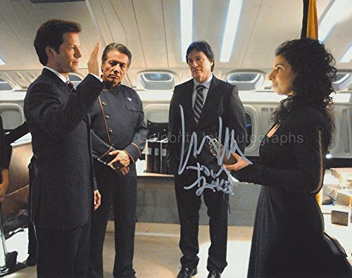 RICHARD HATCH as Tom Zarek - Battlestar Galactica GENUINE AUTOGRAPH