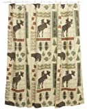 Bacova Guild Big Country Fabric Print Shower Curtain