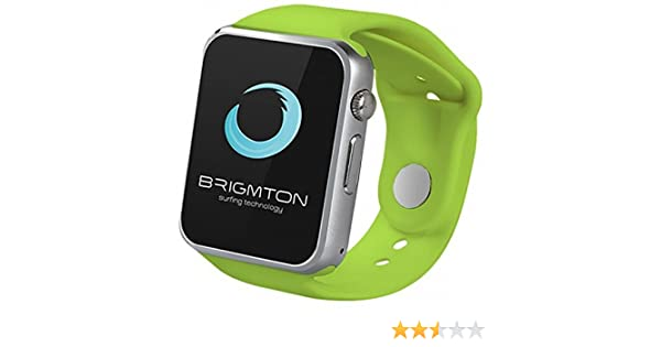 Smartwatch Brigmton BT4 Bluetooth Verde: Amazon.es: Electrónica