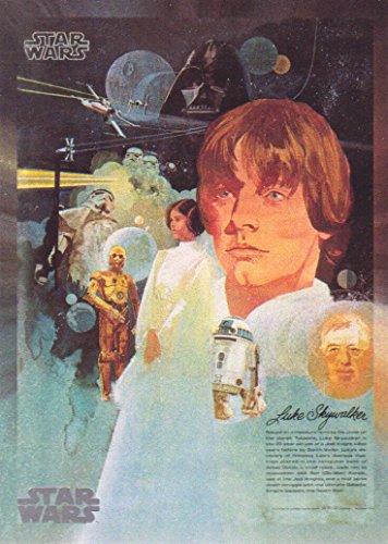 2017 Topps Star Wars 40Th Anniversary Trading Card  140 Coca Cola Star Wars Premium Poster