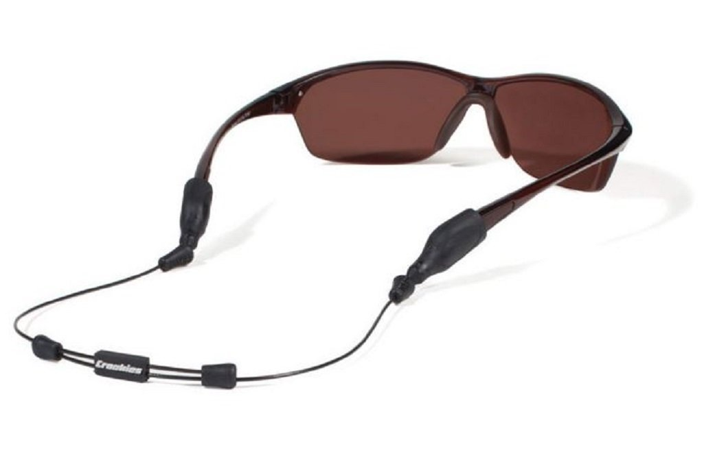 Croakies Unisex Arc System Endless Adjustable Eyewear Retainer (Black, 12 Pack) by Croakies