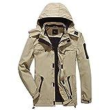 #9: Yozai Men's Lightweight Hooded Windbreaker Breathable Quick Dry Waterproof Jacket