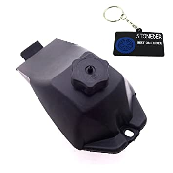 STONEDER - Depósito de gasolina para minimoto (de plástico, para 2 ictus 47 cc 49 cc, minimoto o mini quad de 4 ruedas): Amazon.es: Coche y moto