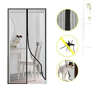 Mture cortina mosquitera magn tica para puertas mosquito for Mosquitera magnetica puerta