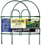 Origin Point 041808 Gard'n Border Round Folding Fence, Green, 18-Inch x 8-Feet