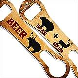 Bear + Deer Kolorcoat V-Rod Bottle Opener For Sale