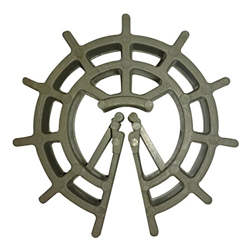 1-1/2'' Rebar/Rerod/Wire Mesh Plastic Spacer Wheel - #3, #4 Bar - 1,000 Ct. by Haala Industries