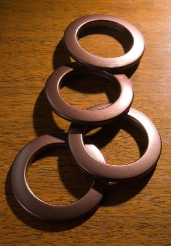 Wrights 1 9/16'' Inside Diameter Curtain Grommets (Bronze)