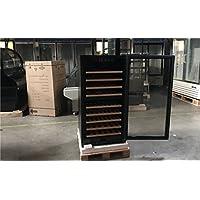 NSF 72 Black Glass Door Commercial wine Bottle case Refrigerator Cooler