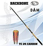 DAM Backbone TELE 160, 3.60m/11.81ft 60-160g/2,12-5,64oz – Telescopic Spinning rod + K-DON Softlure for free For Sale