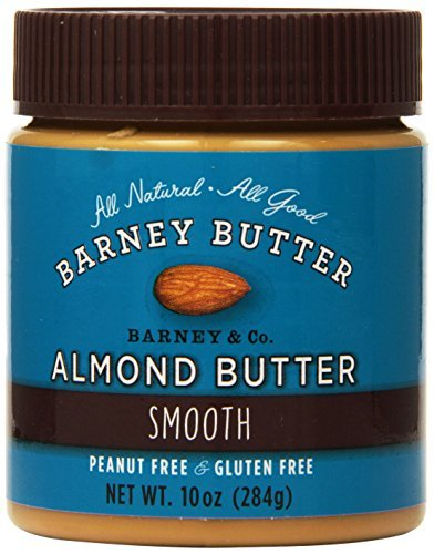Barney Butter Smooth Almond Butter, 10-Ounce Jars (Pack of 3) by Barney (Butter 10 Oz Jar)