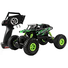 Remote Control Car, COOL99 1:18 Scale 2.4Ghz 4WD Fast MPH RC Car Truck High Speed Off-road Radio Remote Control Vehicle Green