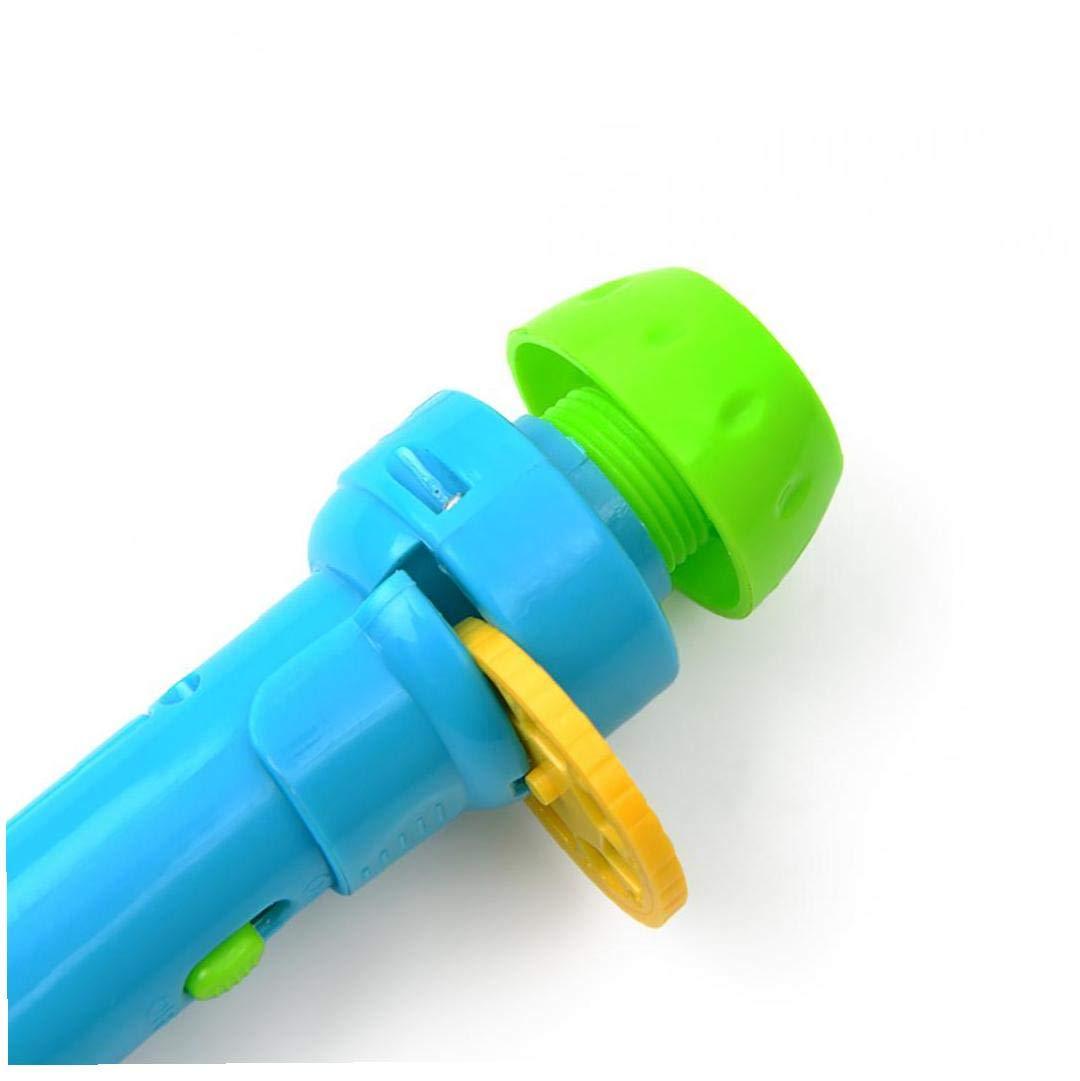 1pc enfants histoire lampe de poche Jouets Storybook Torch jouet /éducatif Handed Projecteur pour b/éb/é Dormir Storys enfants Cadeaux Dont 4 contes de f/ées Chaque histoire a 8 Photos