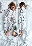 Leveret Organic Cotton Garden Footed Pajama Sleeper