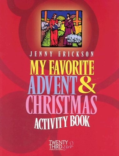 Download My Favorite Advent & Christmas Activity Book pdf