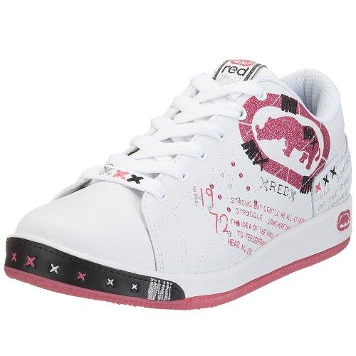 Rhino Red Little Kid/Big Kid Pharanz-Phahrenheit Sneaker,White/Black/Pink,1 M US Little Kid