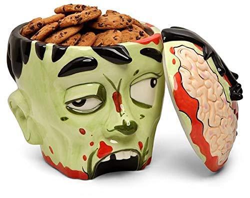 ThinkGeek Zombie Head Cookie Jar (Cookie Jar Spiderman)