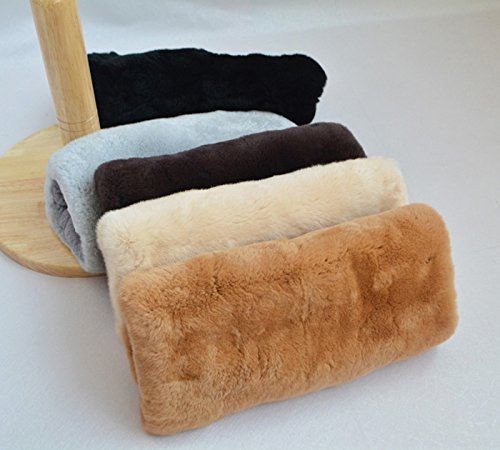 HOMEE the Office of the Afternoon Nap Pillows, Rabbit Hair Warm Hand over Maomao Pillow Cushion Hand Warmers Po to Meddle in Pillow Hand Warmers,White by HOMEE