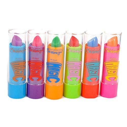 Max Makeup Cherimoya 24 Hour Magic Lipstick Made With Aloe Vera