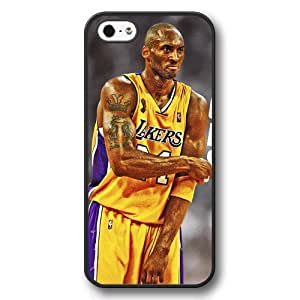 (TCustomized Personalized Black Hard Plastic Case For Samsung Note 2 Cover Case, NBA Superstar Lakers Kobe Bryant Case For Samsung Note 2 Cover Case, Only Fit Case For Samsung Note 2 Cover Case
