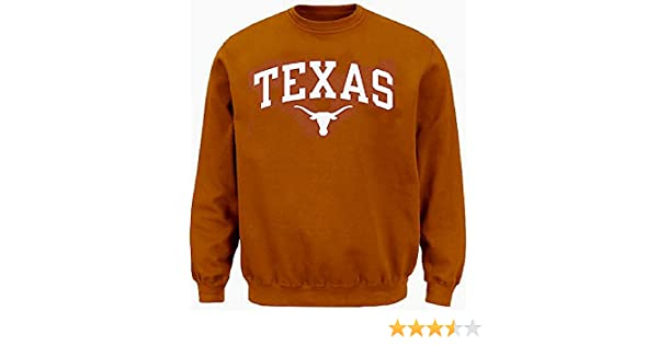 Amazon.com : Texas Longhorns Mens UT Orange Arch Screened Crew Sweatshirt by 289c Apparel (X-Large) : Sports & Outdoors