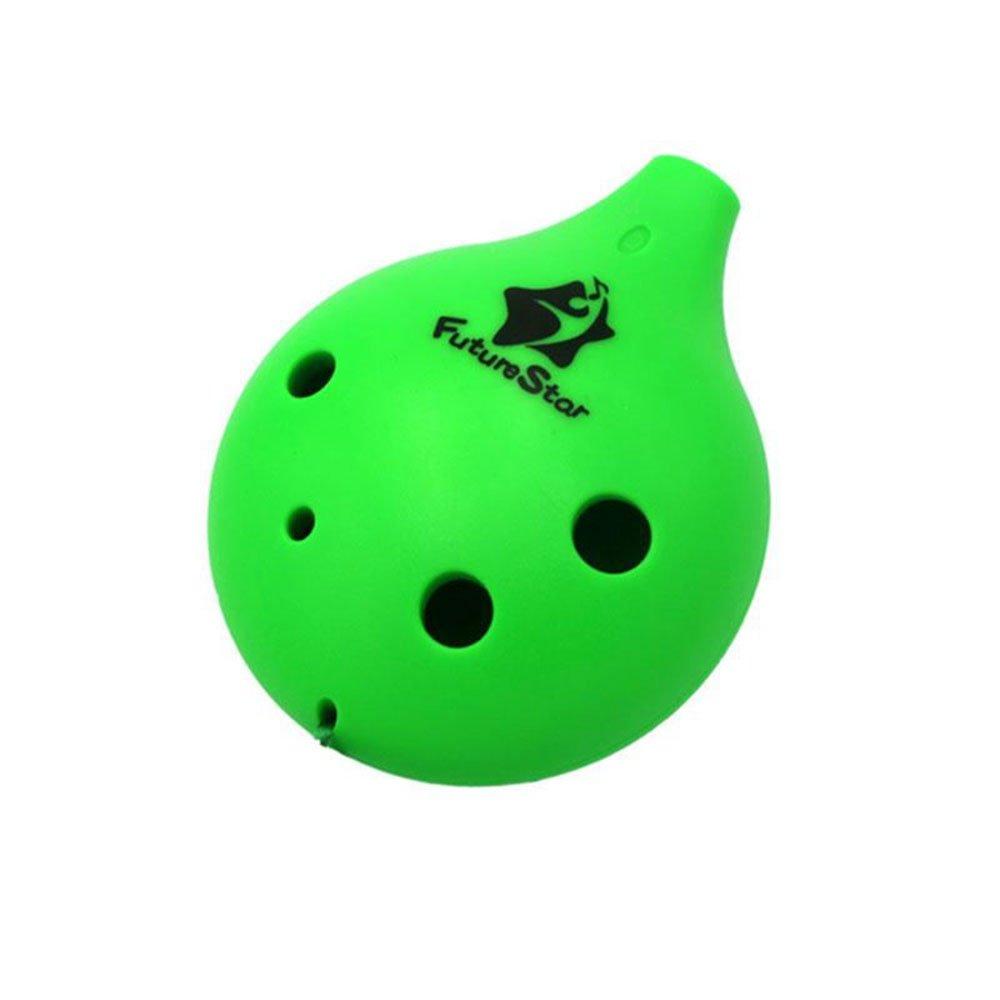 Cido ミニ 5色 6穴 プラスチック 陶器 アルト オカリナ ポケット 持ち運び 初心者 楽器 5色 子供用 ピンク CD-132695 B076D7Y93S Green  Green