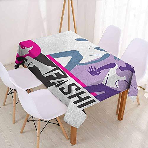 ScottDecor Dinning Tabletop Decoration Picnic Cloth W 54