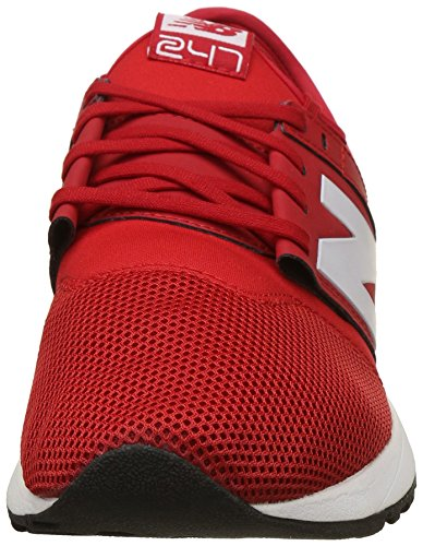 New 247v1 white Balance Red Baskets Homme qaTwYaz8